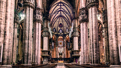 Duomo Cathedral (Giuseppe Peletti) Tags: architecture cathedral christ christian church columns culture duomo gothic internal italy jesus milano spiritual lombardia italia