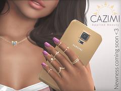 Newness... (Dima Plessis - { C A Z I M I }) Tags: cazimi sl second life nail nails polish applier appliers maitreya belleza omega slink