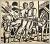 """""""Le jongleur et les acrobates"""" 1943 Fernand Léger, Exposition Fernand Léger (1881-1955) """"Beauty is Everywhere"""" """"La Beauté est partout"""", Bozar, Bruxelles, Belgium (claude lina) Tags: claudelina belgium belgique belgïe bruxelles brussel exposition peinture painting fernandléger bozar palaisdesbeauxartsdebruxelles labeautéestpartout beautyiseverywhere lejongleuretlesacrobates"""