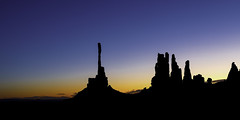 02469376277-97-Early Morning Silhouette in Monunment Valley-1 (Jim There's things half in shadow and in light) Tags: arazona canon5dmarkiv monumentvalley navajo utah earth landscape morning sky statepark silhouette southwest america
