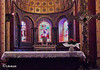 Small town church (The Bop) Tags: humble church stainglass alter ceiling flowers simplicity