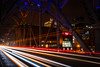 At the speed of light (sniggie) Tags: bbt kfcyumcenter louisville ohioriver pnc secondstreetbridge arena bridge carlights nightphotography skyscraper traffic waterfront