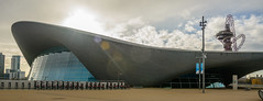 Olympic! (stevefge) Tags: 2017 london olympicpark stratford buildings sport architecture reflectyourworld uk panorama park winter