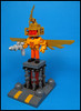 Don't put your heroes on pedestals (Karf Oohlu) Tags: lego moc minifig modifiedminifig hero pedestal heroonapedestal