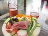 Dining al Fresco (26.3andBeyond) Tags: salad nicoise tuna rosé wine dining alfresco healthy foodporn