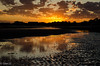 Puerto Madryn - Sunrise (nebulous 1) Tags: puertomadryn argentina patagonia beach sunrise atlanticocean water clouds reflection color tide nikon nebulous1 glene