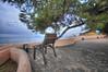 (043/18) Butaca de preferencia (Pablo Arias) Tags: pabloarias photoshop photomatix capturenxd españa cielo nubes mar agua mediterráneo silla árbol pino peñón ifach calpe alicante