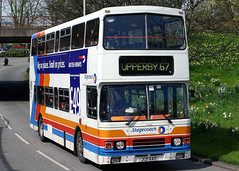 14261 J121 AAO (Cumberland Patriot) Tags: stagecoach cms cumberland motor services north west england cumbria carlisle willowholme depot stripes leyland olympian on2r50g13z4 alexander rl ch4727f 1021 142261 j121aao step entrance double deck decker bus buses omnibus derv diesel engine road vehicle 2005 flood relief fleet 68 belle vue upperby passenger transport