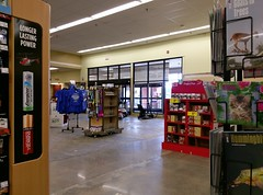 Pharmacy entrance, as seen from the inside (l_dawg2000) Tags: 2018remodel cordova delicatesen grocery grocerystore healthbeauty kroger labelscar marketplace meats memphis pharmacy produce remodel retail scriptdécor shelbycounty supermarket tennessee tn trinitycommons cordovamemphis unitedstates usa