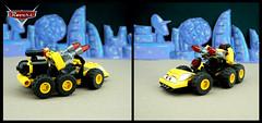 BeeTee (TFDesigns!) Tags: lego space spacepolice blacktron disney pixar rover febrovery satire movie