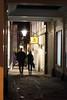Jeffries Passage (kwaklog) Tags: night dark alley street town streetlamp jacks sign long exposure silhouette motion blur movement