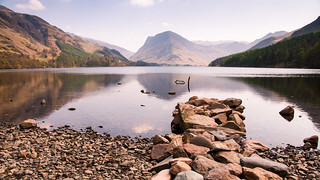 Fleetwith Pike and Buttermere lake
