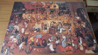 Pieter Bruegel the Elder - The Fight Between Carnival and Lent (4000p)