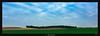 Caterpillar (Ilan Shacham) Tags: landscape minimalism field pano panorama trees clouds sky fineart fineartphotography green shape form israel ruhama shikma