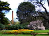 Botanical Gardens Castlemaine, Victoria (Diepflingerbahn) Tags: botanicalgardenscastlemaine victoria factory chimney flower beds tree bush shrubs gardens park