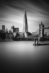 The Shard (lja_photo) Tags: london towerbridge shard theshard docks themse tower bridge stkatharinedocks river water reflections city clouds contrast cityscape light natural architecture architectural art long exposure longexposure black blackandwhite bw bnw blackandwhitephoto building buildings monochrome monotone monoart moody sky street streetphotography photography skyline skyscraper cityhall cityoflondon uk england fineart fuji xt20