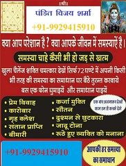 Husband Wife Dispute Solution Specialist baba ji +919929415910 (vijayshastri890) Tags: love problem solution