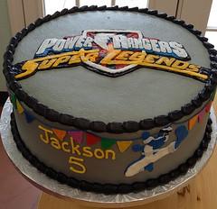 powerranger (backhomebakerytx) Tags: kid birthday cake power rangers 5th boy cool
