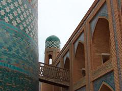 Le Kalta Minor, de Khiva (Histoires de tongs) Tags: uzbekistan ouzbékistan tourdumonde travel trip roundtheworld adventure aventure voyage architecture découverte discover visite visit