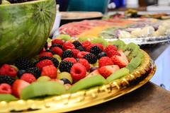 Baby Shower Food (Vegan Butterfly) Tags: vegetarian vegan food yummy tasty delicious baby shower event fruit berries raspberries kiwi blackberries blueberries grapes