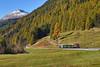 Storico d'autunno (Paolo Brocchetti) Tags: paolobrocchetti rhb autunno samedan bever nikon d810 24120 treno ferrovia bahn rail railway grigioni