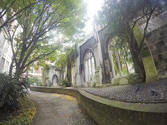 The Ruins of St. Dunstan (Melissa Osorio Photography) Tags: london uk travel beauty beautiful photo photography melissa osorio melissaosorio green