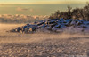 Scarborough Bluffs - Rising Steam (digithief) Tags: d500 nikon ice lakeontario scarborough scarboroughbluffs snow winter toronto ontario canada ca