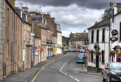 Coldstream, Scotland (Baz Richardson (trying to catch up again!)) Tags: scotland berwickshire coldstream streetscenes smalltowns