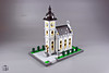 Village church (moctown) Tags: lego architecture microscale church