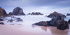 Rocks and water Camel Rock (laurie.g.w) Tags: rocksandwater camelrock wallaga lake headland rocks water ocean shoreline waterscape bermagui nsw australia beach sky cloud