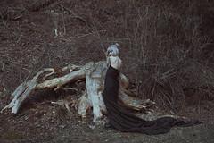 _35A8477 2 (Elvira Leone) Tags: kerryrovere kerry grey hair abandonedplace black