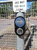 Klemzig Interchange Pedestrian Crossing Upgrade (RS 1990) Tags: klemzig businterchange adelaide southaustralia friday 19th january 2018 pedestrian crossing upgrade trafficlight signal braums button new