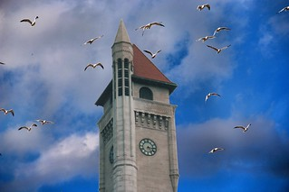 St Louis Mo ~ Former Union Station ~ Double Tree Hotel ~  Clock Tower