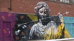 Marché Jean-Talon (Montréal) (Sylvain Bournival) Tags: lapommedusavoir mateo fresque murale peinture acrylique aérosol
