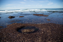 Tide Hole (Caryn Sandoval) Tags: california tidepools tidepool nature ocean sea sealife sunset