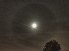 Lunar halo (andystones64) Tags: moon lunar halo sky clouds cirrus night evening longexposure outdoors space earthandspace