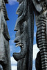Tall Ki'i (wyojones) Tags: hawaii hawaiian heiau hōnaunau haleokeawe puuhonuaohōnaunaunationalhistoricalpark placeofrefuge kii tall sprits gods