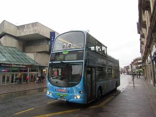 Stagecoach Hull (loan from Grimsby) 16965 YJ04FZF 'Splash' Carr Lane, Hull on Interchange Anniversary shuttle (8) (1280x960)