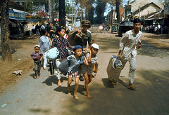 SAIGON Tet Offensive 1968 (manhhai) Tags: asia asianhistoricalevent asians battle casualty children crowd dwelling escaping family father females group historicevent house luggage males many militaryvehicle mother motorvehicle northamericanhistoricalevent parents people refugee road southvietnam southeastasia southeastasians store street tank townscenes unitedstateshistoricalevent vehicle victim vietnam vietnamwar19591975 vietnamese vietnamesehistoricalevent war warvictim