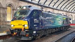DRS Class 88 At Newcastle (Uktransportvideos82) Tags: class88 directrailservices drs 88010