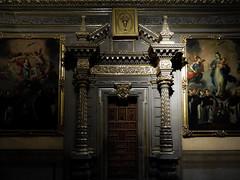 door to heaven (fotosdrx) Tags: nikon cannon arquitecture yellow building church painting door puebla mexico