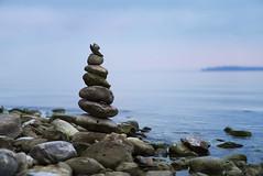 Stone Tower (johaennesy) Tags: überlingen überlingersee bodensee badenwürttemberg germany sones calm blue lake see opensourcesoftware gimp rawtherapee pentaxian landscape landschaft