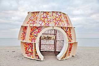 Nest by Ryerson University, The Winter Stations, Woodbine Beach, The Beach, Toronto, ON