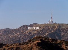 Hurray for Hollywood (Karen_Chappell) Tags: travel usa sign hollywood losangeles hills landscape scenery scenic california