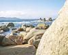isolelahiver-rochers (www.guilphotographie.com) Tags: plage rochers mer vague corse isolela argentique portra plaubel