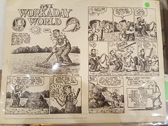 """""""WORKADAY WORLD"""" COMIC POSTER PRINT.  $65. • <a style=""""font-size:0.8em;"""" href=""""http://www.flickr.com/photos/51721355@N02/38730213735/"""" target=""""_blank"""">View on Flickr</a>"""