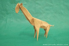 12/365 Giraffe by Joshua Goutam #origami (origami_artist_diego) Tags: origami origamichallenge 365days 365origamichallenge giraffe