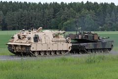 M88 / US-Army (Combat-Camera-Europe) Tags: us usa usarmy armee army m88 arv recovery armouredrecoveryvehicle jmtc hohenfels grafenwöhr parsberg exercise exercises manöver convoy tank tanks panzer bergepanzer nato otan europa europ 2military europeus germany