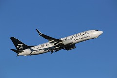 """Here is Copa Airlines""""Star Alliance Livery"""" HP-1823CMP (shumi2008) Tags: copaairlines copaairlines737 copaairlinesstaralliance boeing737 b737800 staralliance toronto torontopearson pearsonairport yyz cyyz"""