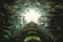 The Mission (Sabry Ardore) Tags: scifi dark future dystopic artwork futuristic green mood sabry ardore digital art concept shuttle space light technology creative matte paint